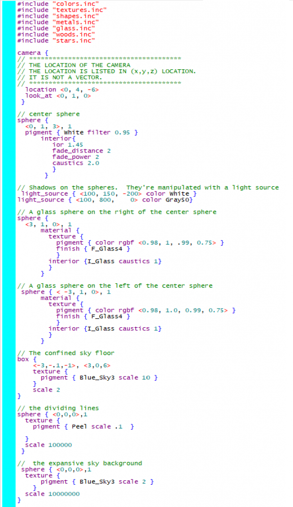 The code used to make the image above.